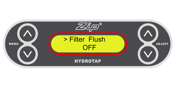 If you go away for an extended period, Zip recommends you turn off your G3 HydroTap to save water and energy.