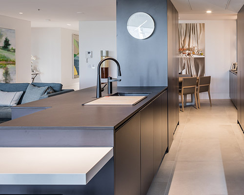 Dusky Drama Attard Kitchens & Cabinetry