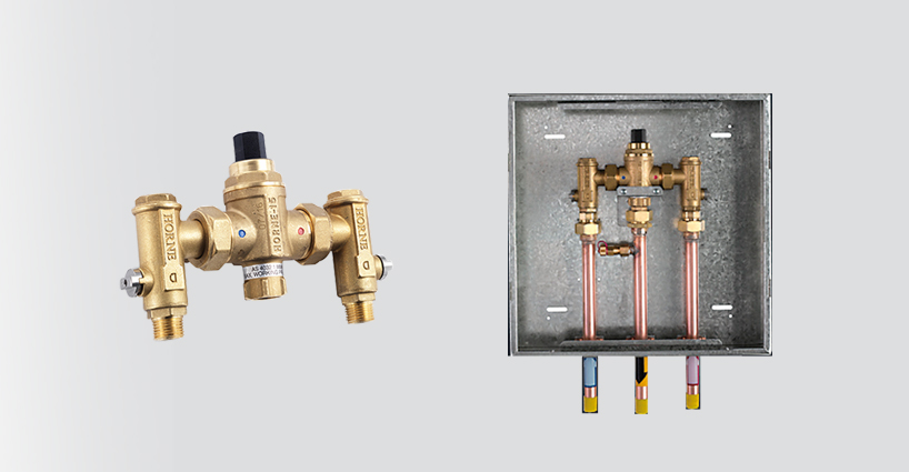 Horne Thermostatic Mixing Valves