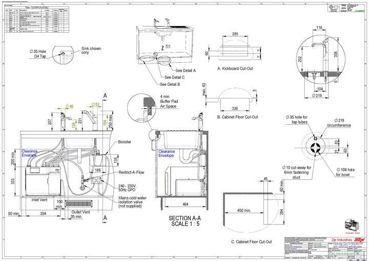 zip hydrotap g4 4in1 bcha 240  175 classic mixer